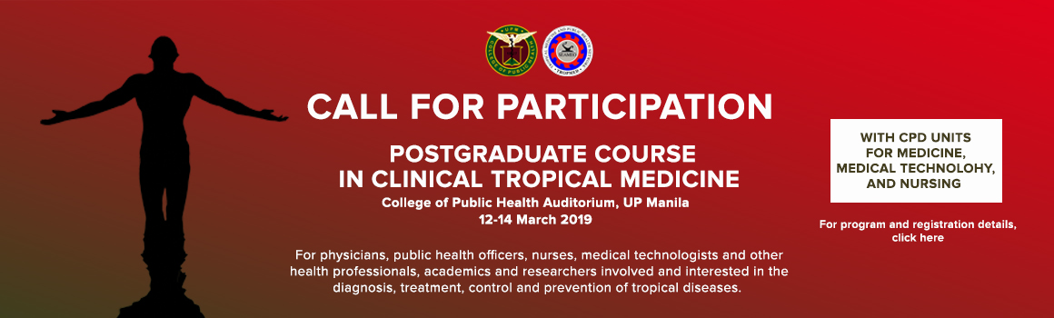 Call for Participation: Postgraduate Course in Clinical Tropical Medicine